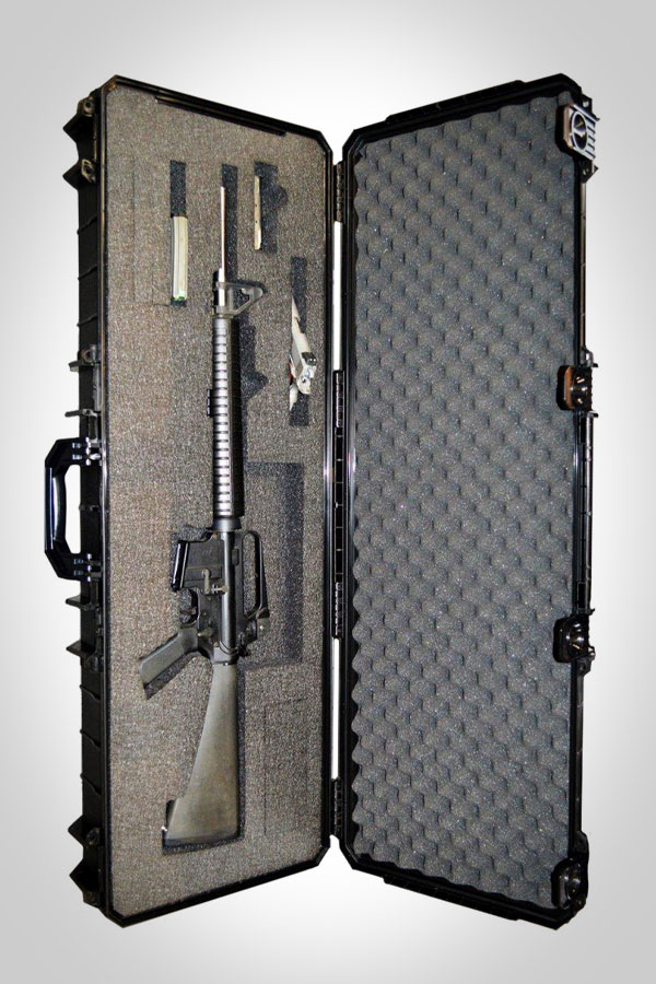 Quick Fire Cases 640 AR15 / Carbine A-2 Case